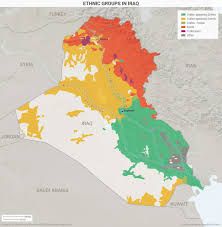 Iraq World Map by Ethnic Groups In Iraq Maps Pinterest