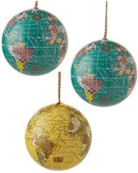 kurt adler plastic globe ornament home