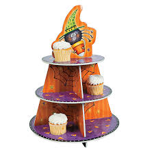 halloween cupcake display gummy tarantula cupcakes free n fun halloween from oriental trading