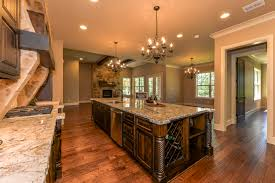 Island In The Kitchen Pictures by Texas Rustic Hill Country Style Home Has An 11ft Island In The