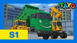 the best heavy equipment 30 mins l episode 16 l tayo the little