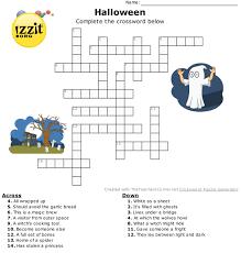 Halloween Mad Libs Esl by Halloween Crossword Hard Happyhalloween Classroom