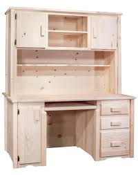 Secretary Desk Hutch by Homestead Timber Frame Desk With Hutch Stained Lacquered Or