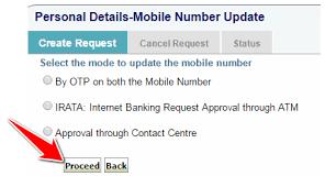 Sbi Online Help Desk How To Change Your Registered Mobile Number In Sbi Online Offline