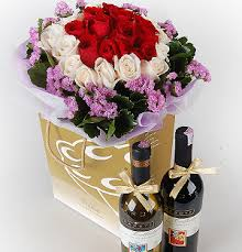 Wine Delivery Gift Birthday Flowers Malaysia Birthday Gift For Her U0026 Him Florygift