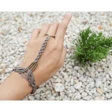 bracelet macrame images Macrame slave bracelet slave bracelet ring bracelet finger jpg