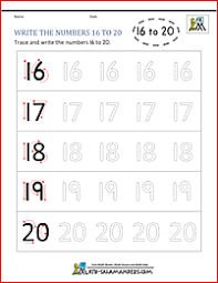 handwriting worksheets with numbers printable kindergarten writing worksheets numbers to 11 to 20