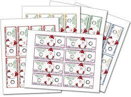 christmas printable play money christmas games for kids and