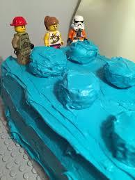 easy lego cake idea desert chica