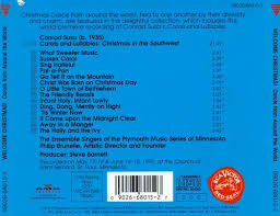 welcome christmas carols u0026 lullabies from around the world