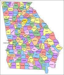 county map ga county map us