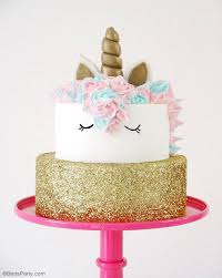 How To Be A Unicorn For Halloween by How To Make A Unicorn Birthday Cake Party Ideas Party Printables