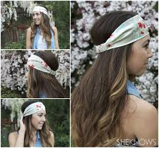cloth headbands got a scrap fabric transform it into a cool boho headband