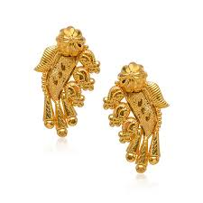bengali gold earrings senco gold diamonds store buy senco gold diamonds online at