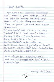 Appreciation Letter Sister couple turn mistaken letters to santa claus into miracle on 22nd