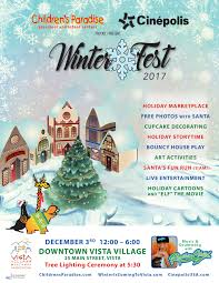 winterfest vista village business association