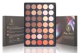 amazon com party queen eyeshadow palette 35 color makeup eye