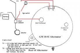 el falcon alternator wiring diagram wiring diagram