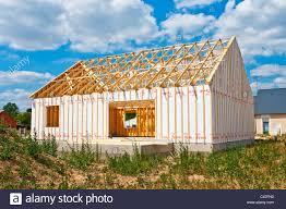 bungalo house new wood bungalow house construction du pont