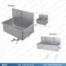 Scrub Up equipment scrub sink