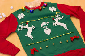 diy ugly christmas sweater threads