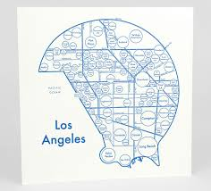 Map Of Beverly Hills Los Angeles by Archie U0027s Press Circle Map Of Los Angeles At Buyolympia Com