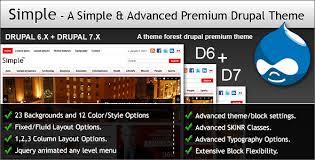 theme drupal menu block simple a simple advanced premium drupal theme by themesmania