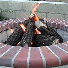 Propane Fireplace Logs by Outdoor Gas Logs Woodlanddirect Com Gas Logs Outdoor Fireplaces