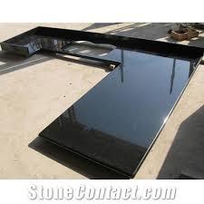 black countertop with black sink wellest galaxy black granite countertop with undermount sink from