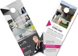door hanger flyer template real estate door hangers creative real estate door hanger