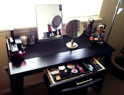 black makeup desk with drawers 51 makeup vanity table ideas ultimate home ideas