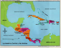 Central America And Caribbean Map by La America Central Y Las Antillas Spanish Pinterest Spanish