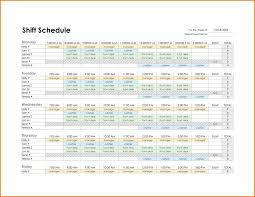 employee shift schedules shift schedule generator excel templates