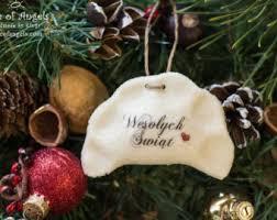 1pc pierogi ornament pierogies dumpling salt
