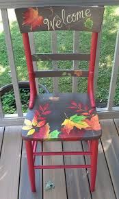 How To Paint Wooden Chairs by Best 25 Painted Chairs Ideas Only On Pinterest Hand Painted