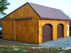 Pole Barn With Apartment Garage Builders Wood Pole Barn 4 Car Garagepole Door Rough Opening