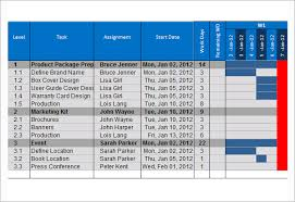 sample gantt chart template 10 documents in pdf word excel