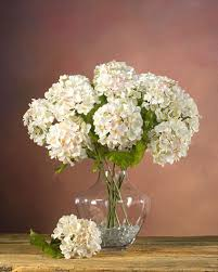 silk hydrangea hydrangea silk flower stems for arranging at petals
