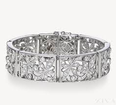 diamond bracelet styles images Everlasting antique design diamond bracelets png