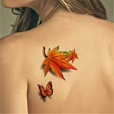 80 meaningful leaf tattoo designs