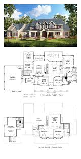 traditional style house plan 58272 total living area 3277 sq ft