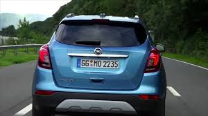 vauxhall mokka trunk opel mokka x in true blue driving video video dailymotion
