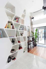 modern bookcase as tree interior design inspirations