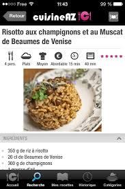 cuisine az recettes android software fr