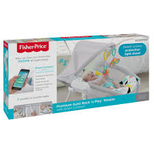 fisher price premium auto rock u0027n play sleeper with smartconnect