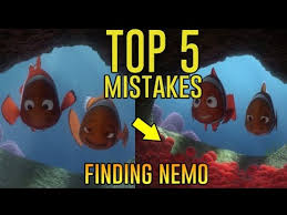 5 movie mistakes finding nemo