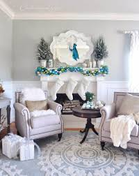 Blue White Christmas Decorations by 40 Fresh Blue Christmas Decorating Ideas Family Holiday Net