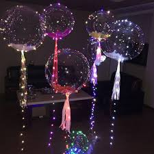 balloons decoration party balloons decoration waterproof led copper string