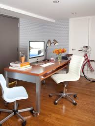 Small Space Ideas For The Bedroom And Home Office HGTV - Home office room design
