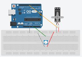 control a servo with arduino and a potentiometer u2013 silvino j a presa